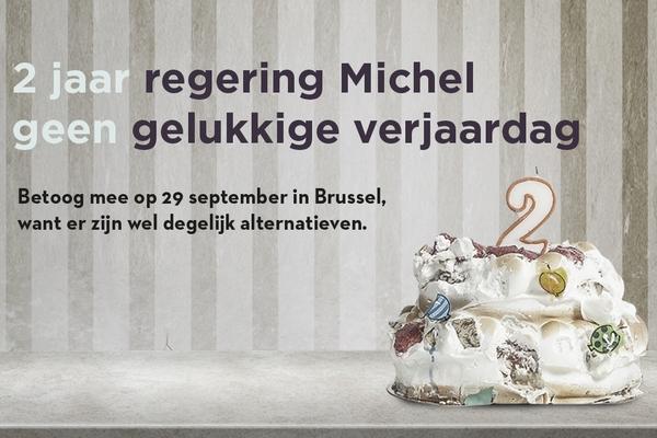 We Vieren 2 Jaar Michel Met Nationale Betoging Op 29 September